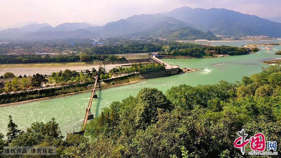 Le patrimoine mondial en Chine : Le système d'irrigation de Dujiangyan
