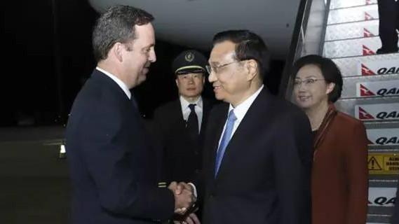 Li Keqiang propose sa vision de la coopération avec l'Australie