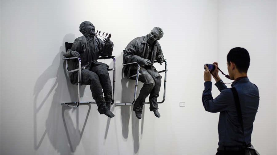 Ouverture de l'Art Basel Hong Kong 2017