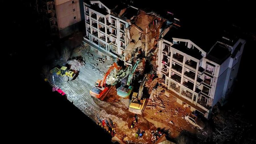 83 logements endommagés et 259 personnes déplacées après l'explosion d'un appartement à Baotou