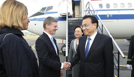 La Ceinture et la Route : la Nouvelle-Zélande signe un acccord de coopération avec la Chine