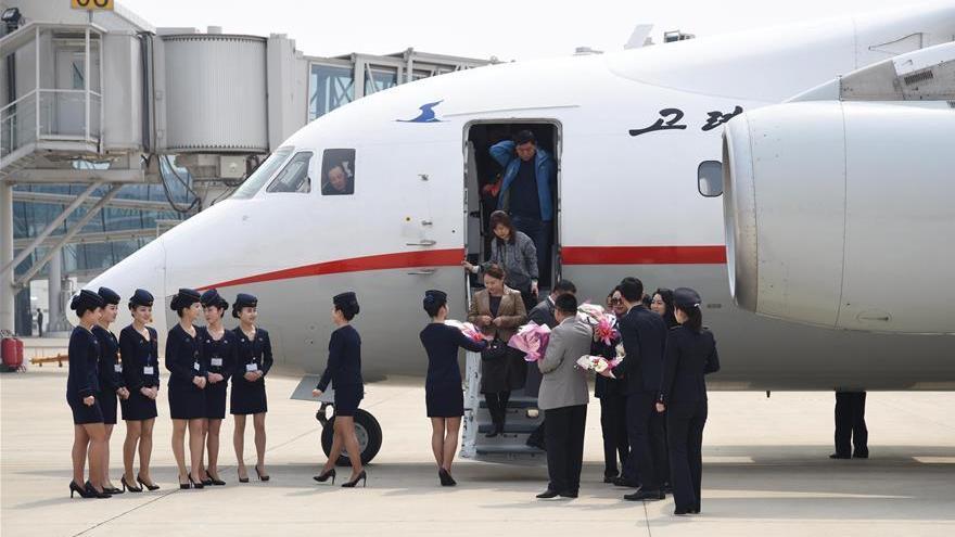 Lancement d'un vol charter entre Dandong et Pyongyang
