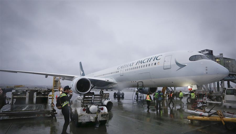 Un Airbus A350-900 réalise son premier vol au Canada