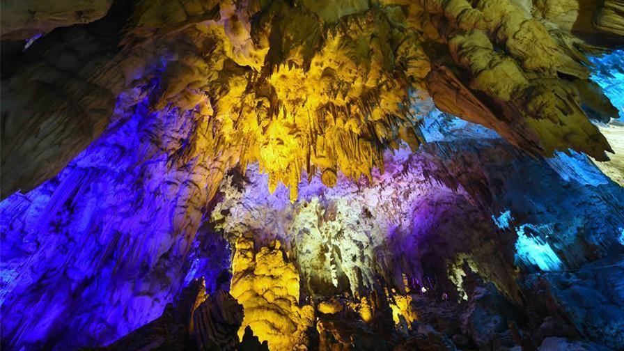 Ouverture prochaine aux touristes d'une grotte karstique dans le sud-ouest de la Chine
