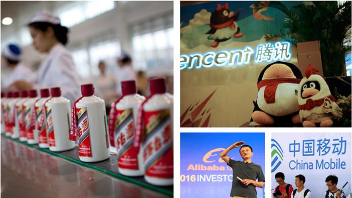 Top 10 des marques chinoises à la plus forte valeur