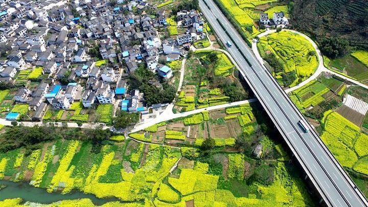 Photos : l'autoroute Huizhou-Hangzhou vue du ciel