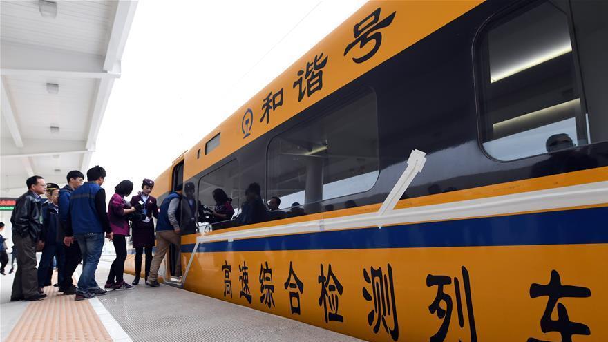 Le TGV Baoji-Lanzhou finalise avec succès ses essais d'accélération progressive