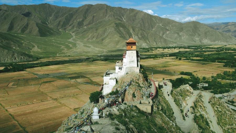 Le Yumbu Lakhang, le premier palais royal du Tibet
