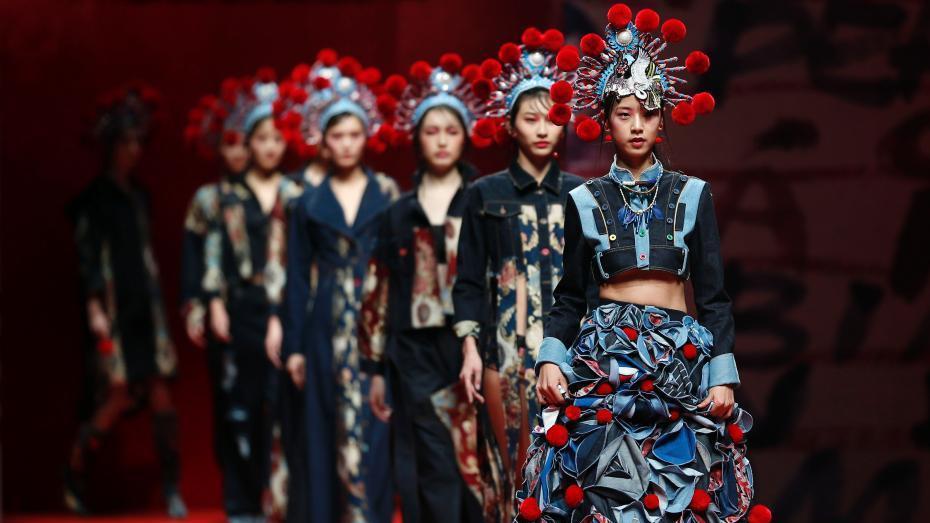 Fashion Week de Chine : quand le denim rencontre les estampes du nouvel an