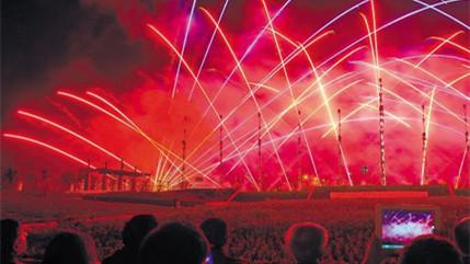 Les feux d'artifice fabriqués à Liuyang dans le Hunan seraient acheminés en Europe par le train