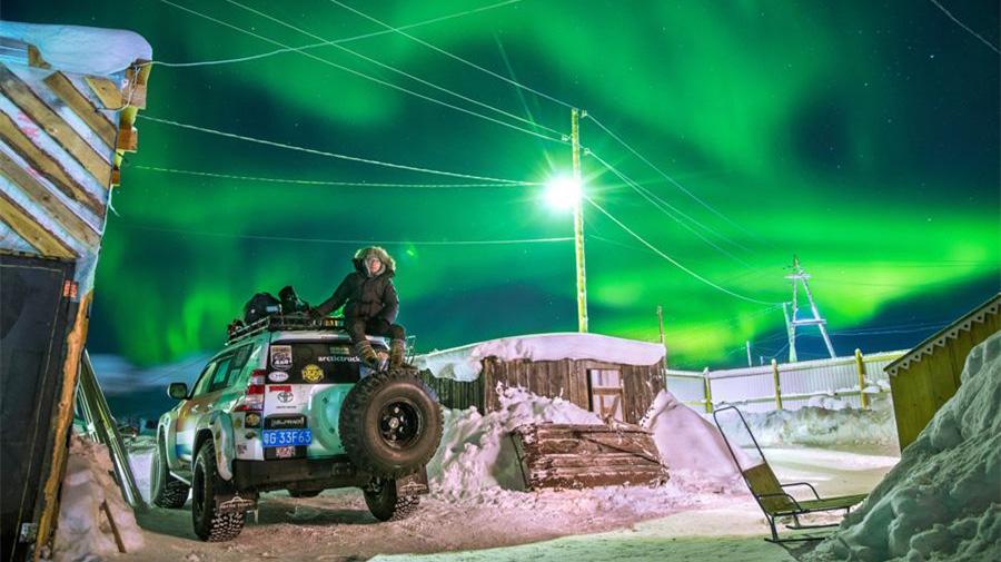 L'incroyable voyage de la mer de Chine méridionale à l'Arctique d'un explorateur chinois