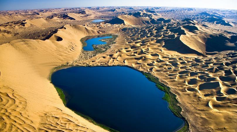 Les sept plus beaux déserts de Chine