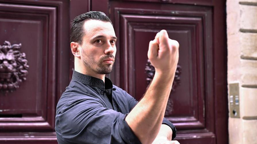 Benjamin Culos, un Français passionnée par le kung-fu
