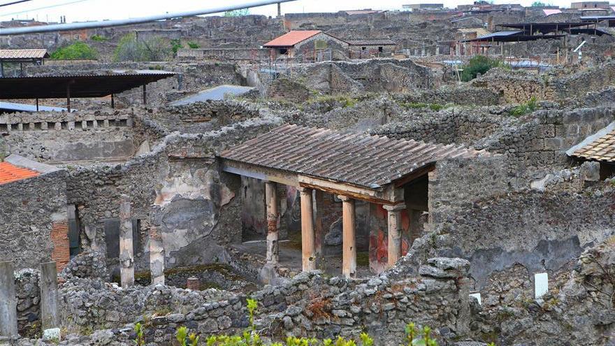 L'UE affecte des fonds pour la restauration de Pompéi