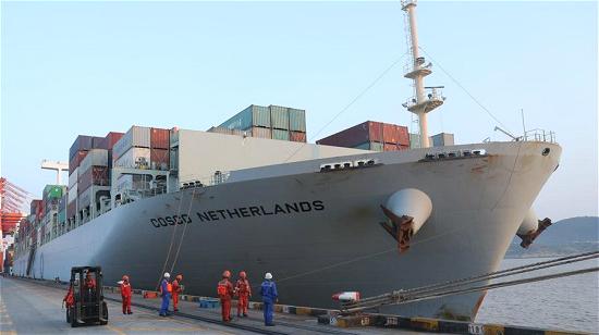 Un navire chinois sur les traces de l'ancienne Route maritime de la Soie