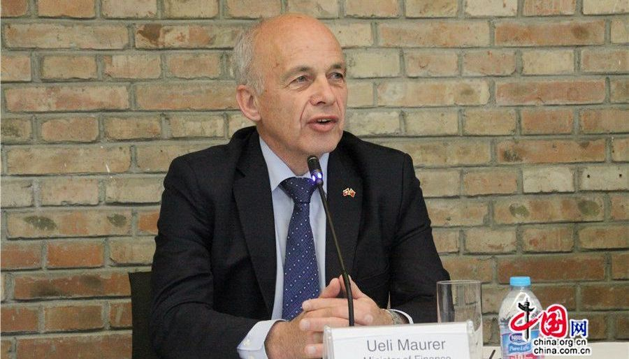Ueli Maurer : la Suisse prête à participer activement à la construction de l'initiative « La Ceinture et la Route »