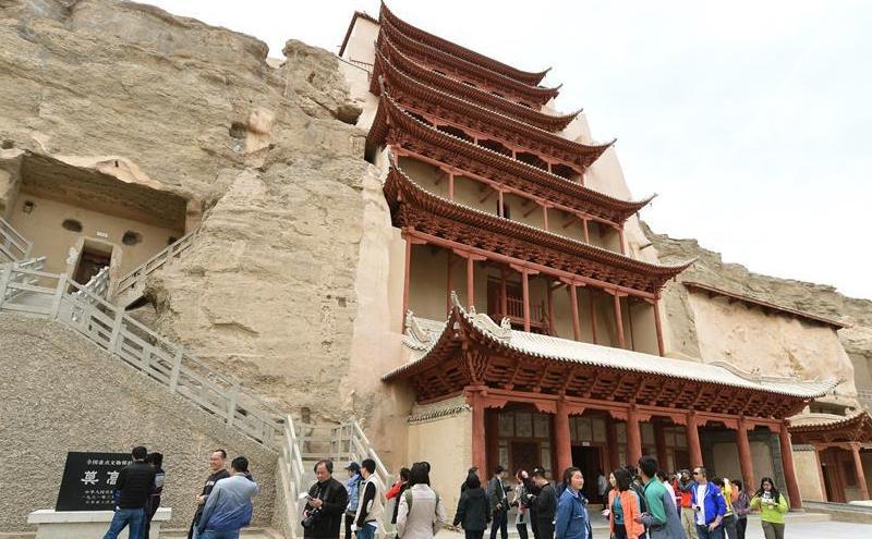 Gansu : l'initiative de 'la Ceinture et de la Route' renforce le tourisme de Dunhuang