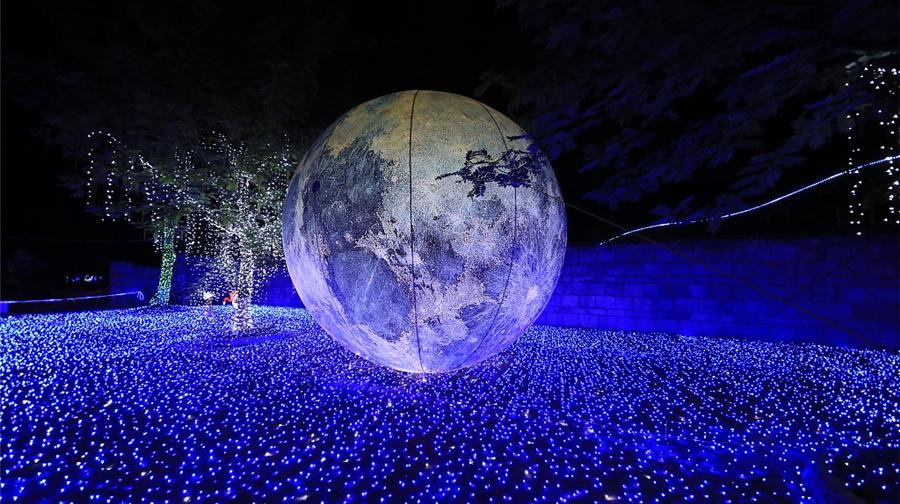 Soixante millions de lampes illuminent le ciel nocturne près de Chongqing