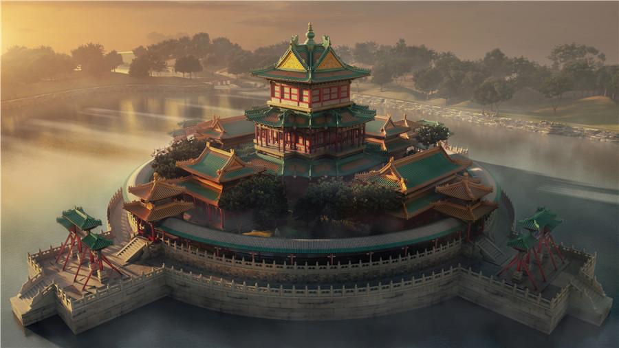 L'ancien Palais d'Été de Beijing renaît grâce à la réalité virtuelle