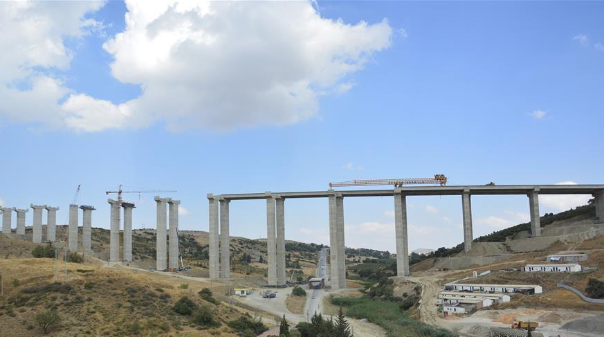 Image : Une autoroute construite par une entreprise chinoise en Algérie