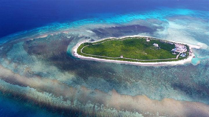 Photos : les îles Xisha, un site idéal de la Route de la Soie maritime