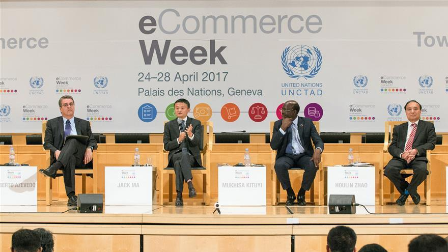 Jack Ma prévoit un jour d'envoyer des articles aux quatre coins du monde en moins de 72h
