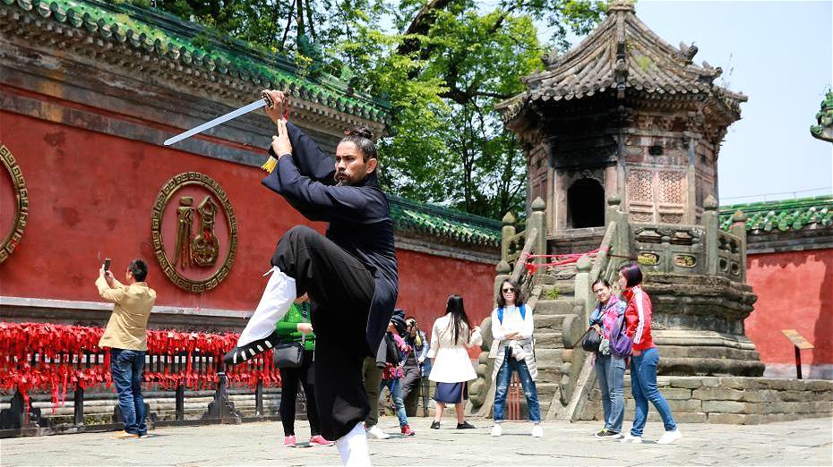 Un Mexicain fasciné par la culture taoïste depuis plus de dix ans