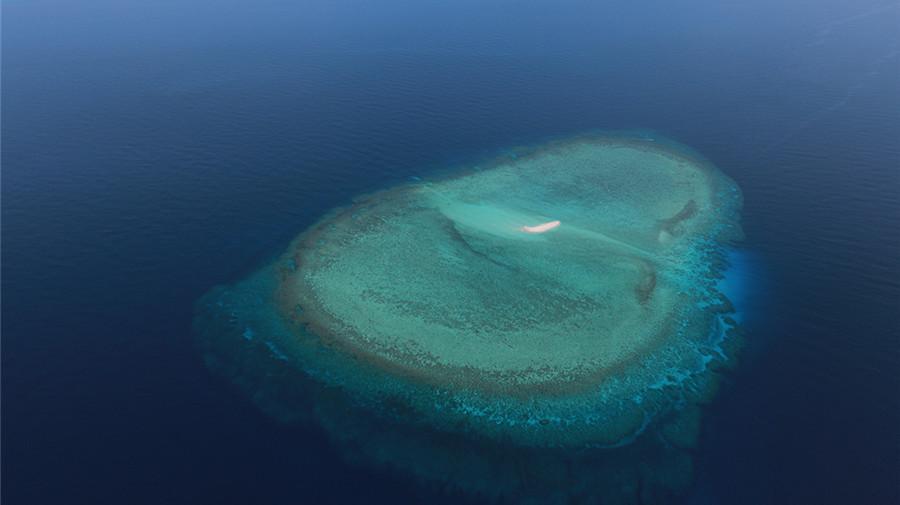 Les paysages magnifiques des îles de Nansha capturés par un soldat
