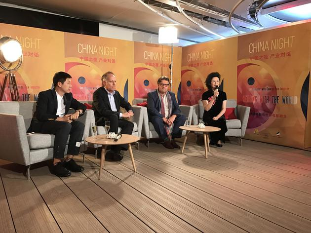 La « China Night » à Cannes promeut la communication entre le cinéma chinois et international