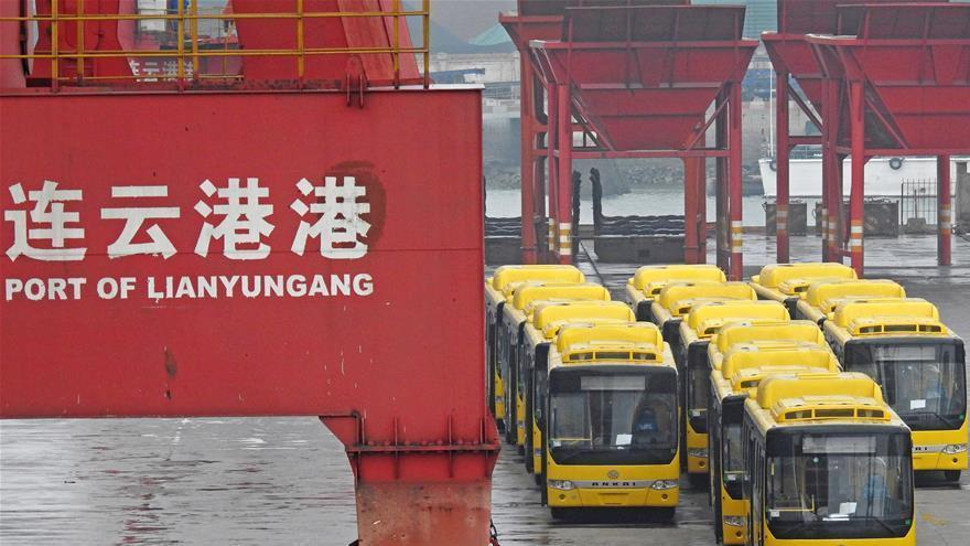 Exportation de bus chinois vers la Birmanie