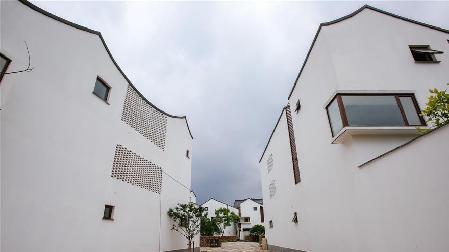 Zhejiang : les nouvelles maisons d'un village font sensation