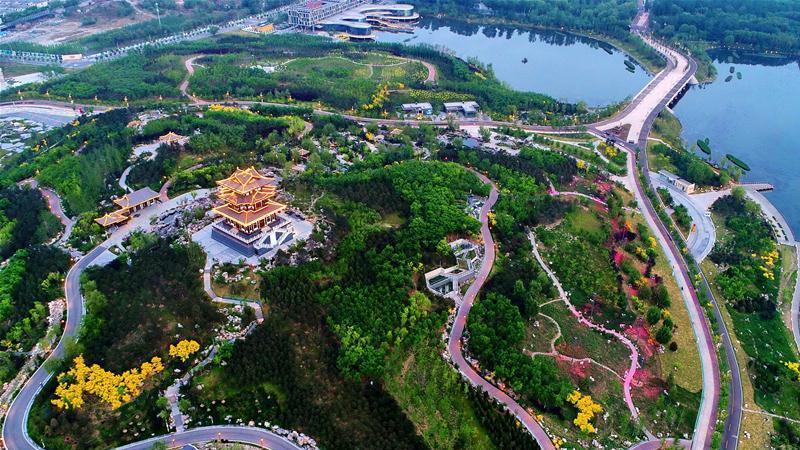 Tangshan : le lac Nanhu, de zone industrielle à zone écologique