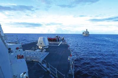 La Chine condamne l'incursion américaine au large des îles Nansha
