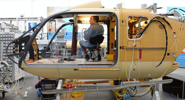 Construction de la première usine de montage d'Airbus Hélicoptères en Chine