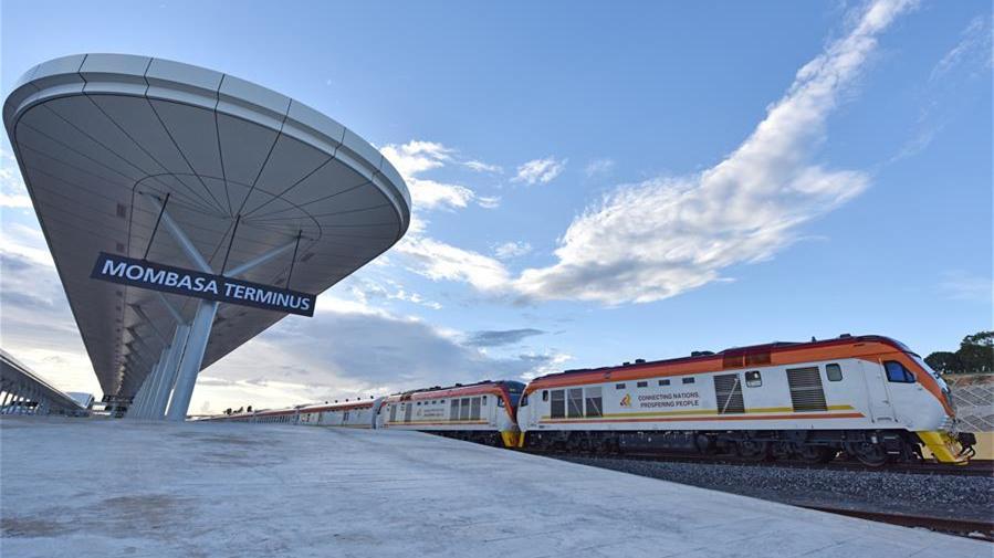 Le chemin de fer Nairobi-Mombasa construit par la Chine va stimuler la modernisation du Kenya