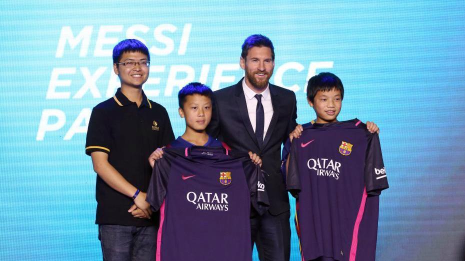 Messi déclare le lancement de la construction du « Messi Experience Park » en Chine