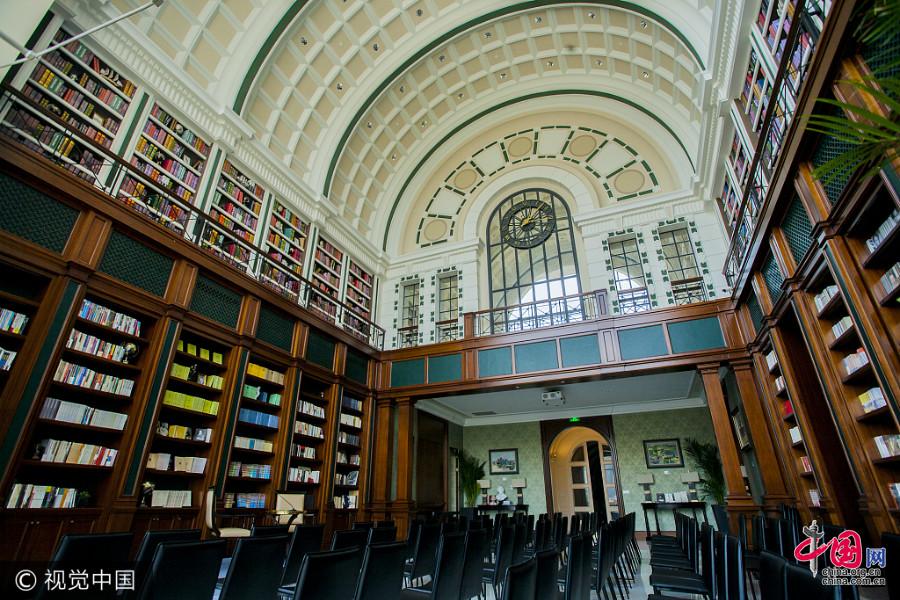 Découvrez une librairie magnifique et originale à Shanghai