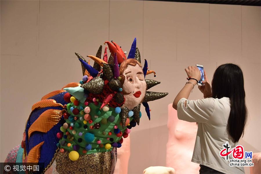 Exposition d'œuvres des diplômés de l'Académie des Beaux-Arts de Chine