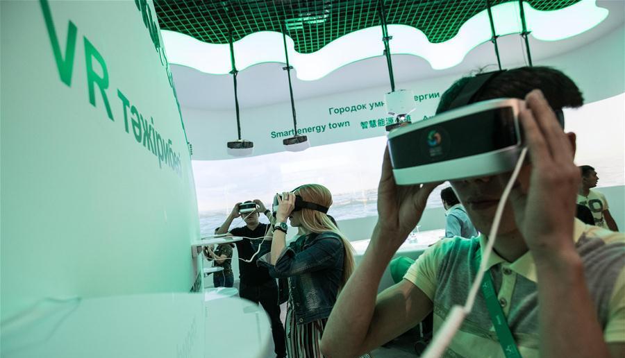 La Chine présente des solutions énergétiques vertes à l'Exposition universelle d'Astana