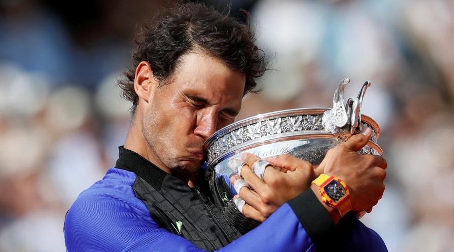 Rafael Nadal balaie Stan Wawrinka et remporte son 10e Open de France