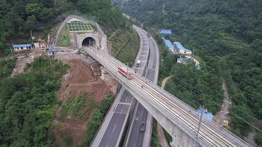 Xi'an et Chengdu bientôt reliées par une voie ferrée à grande vitesse