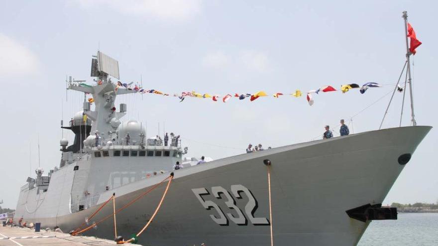 Une escadre navale chinoise est arrivée pour une visite amicale en Iran