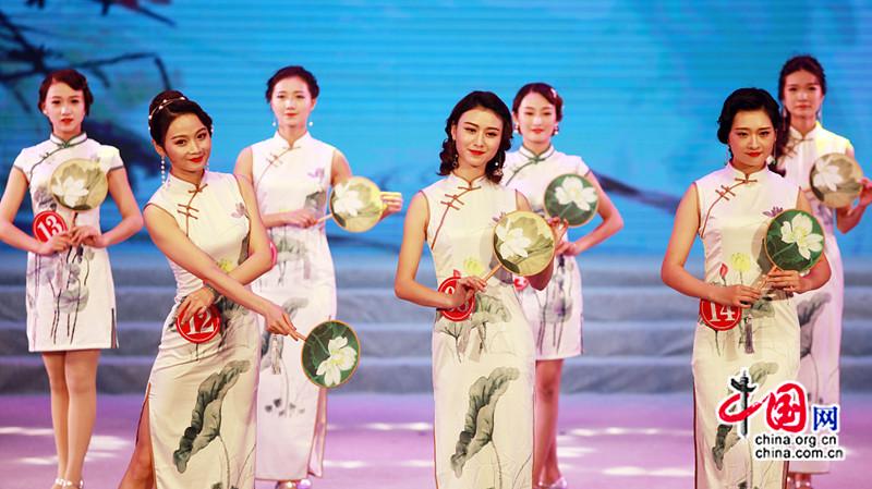 Concours de beauté pour devenir la « fée » du lotus