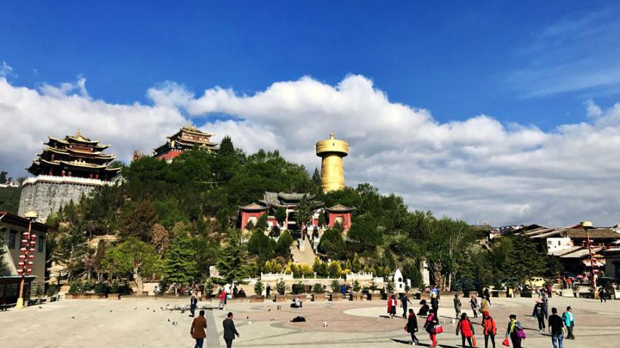 Dukezong, vieille ville tibétaine du Shangri-la revitalisée par la reconstruction