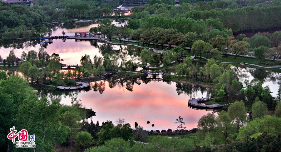 Jilin : les paysages impressionnants du site Jingyuetan