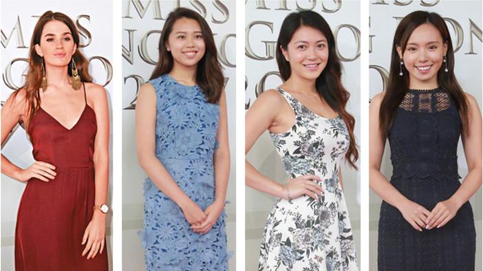 Le premier cycle d'entretiens des candidates du concours Miss Hong Kong