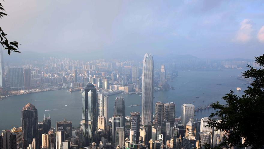 Hong Kong compte 1 300 gratte-ciel