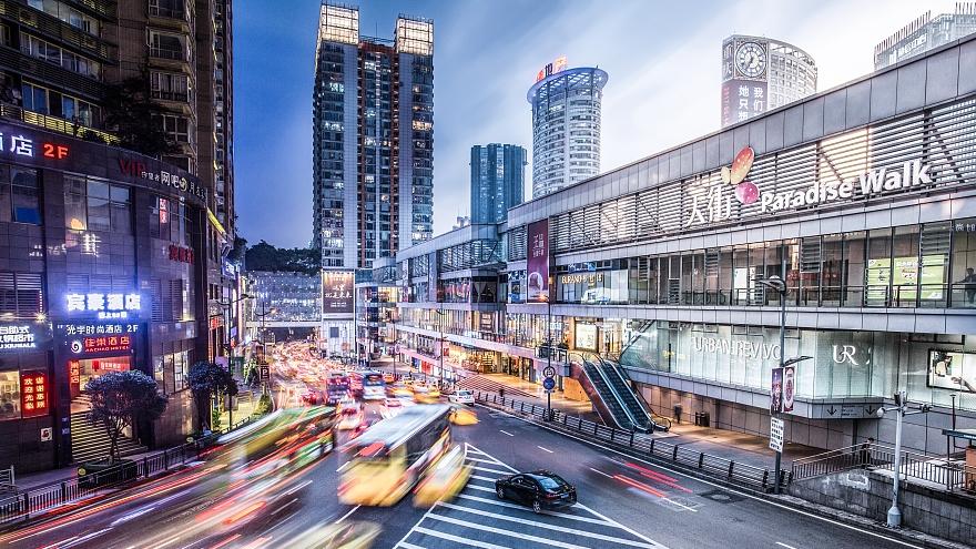 Des images « tranche de temps » qui révèlent la beauté de Chongqing