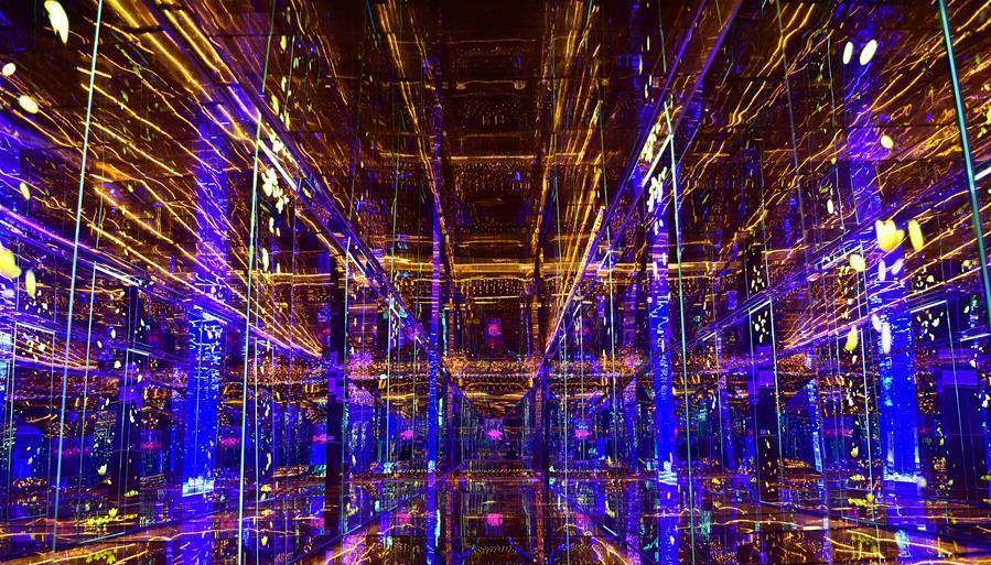 Galerie : le tunnel éblouissant de la Galerie des glaces de Taïwan