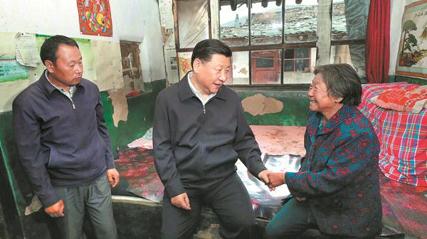 Xi Jinping appelle à de nouveaux moyens pour aider les pauvres